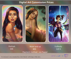Commission Info by JustNeus