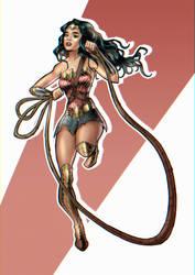 Wonder Woman by JustNeus