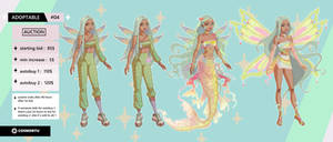AUCTION : Character Adoptable 04 - CLOSED