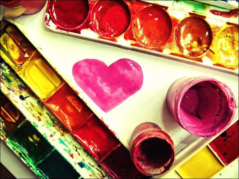 ༺♥༻* UN MUNDO DE COLORES ༺♥༻*  I_love_watercolor_by_a_place4my_head-d2ya17z