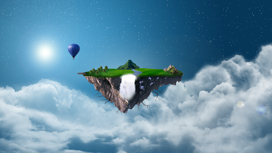 Floating Isle. by ultrasonicduck