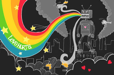 LOVE HURTS. by glockenpop