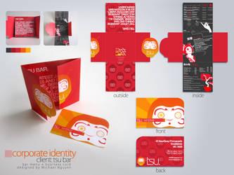 Tsu Bar : Corporate Identity by glockenpop