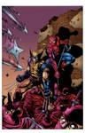 Spider-Man Wolverine Ninjas