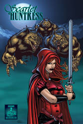 Scarlet Huntress 2 cover A by seanforney