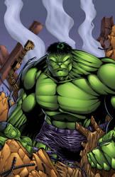 Hulk colors by seanforney