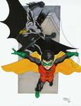 Batman and Robin markers