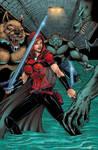 Scarlet Huntress sewer color
