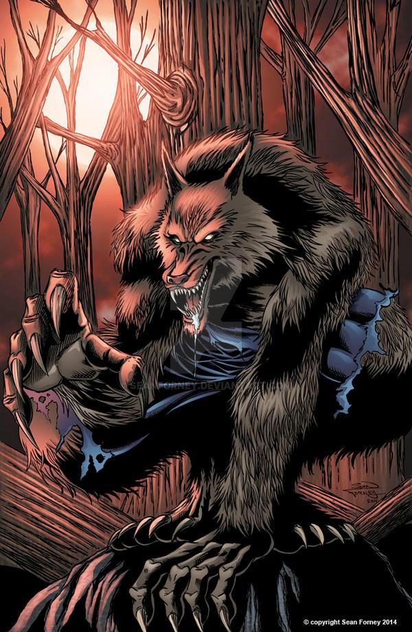 Werewolf 2014  Red by seanforney
