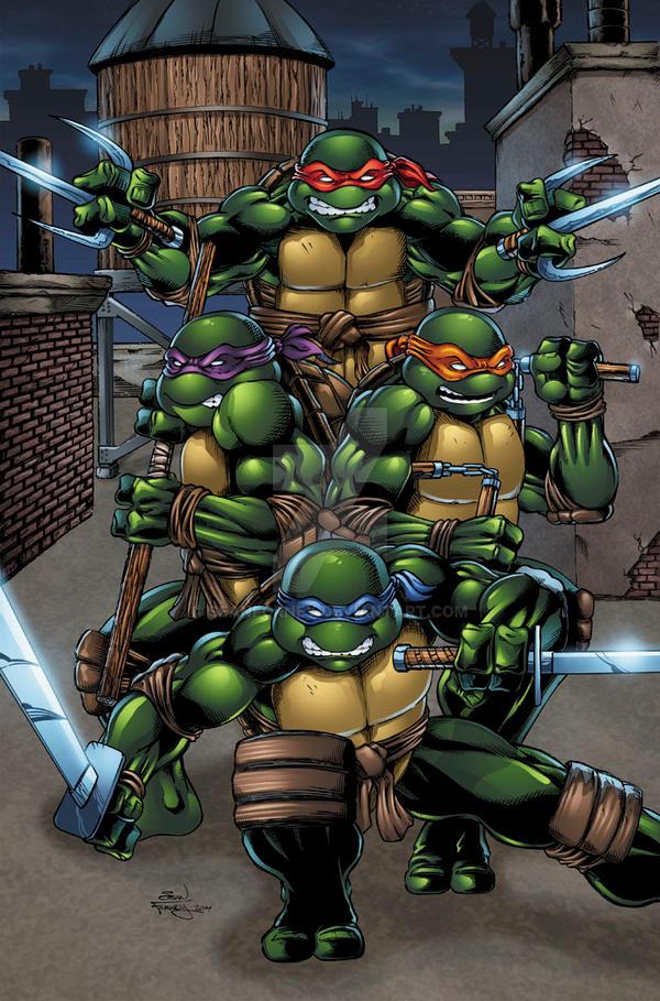 Teenage Mutant Ninja Turtles colors by seanforney on ...