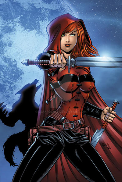 Scarlet Huntress 2015 colors by seanforney