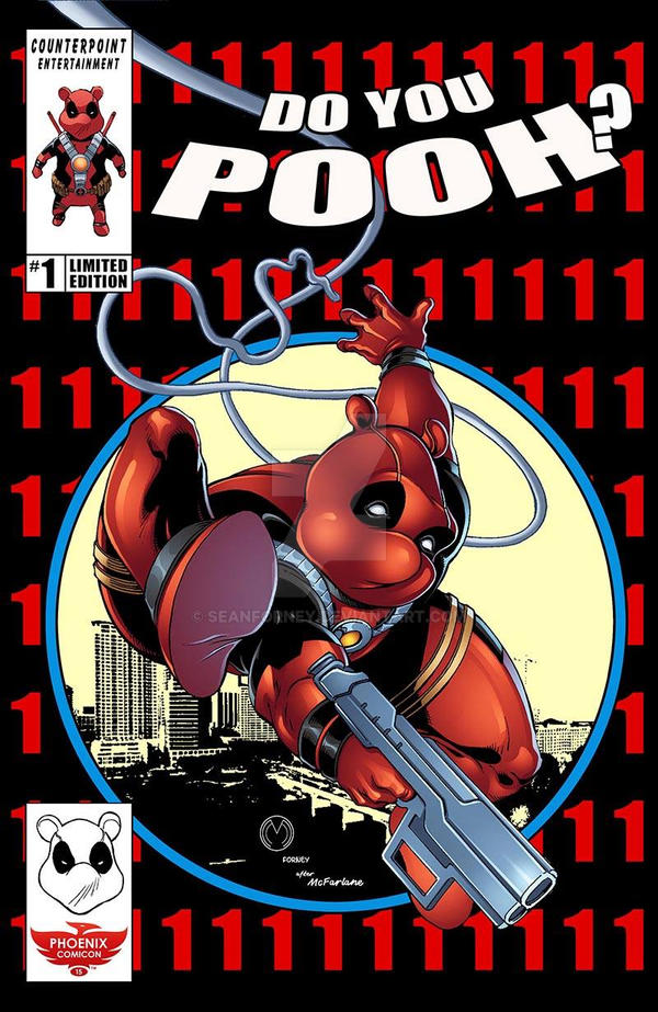 Do you Pooh #1 Phoenix Comicon 2015 cover by seanforney