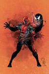 Marat's Deadpool and Venom colored