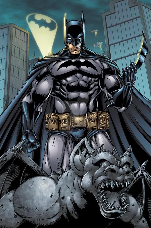 Batman Colors by seanforney