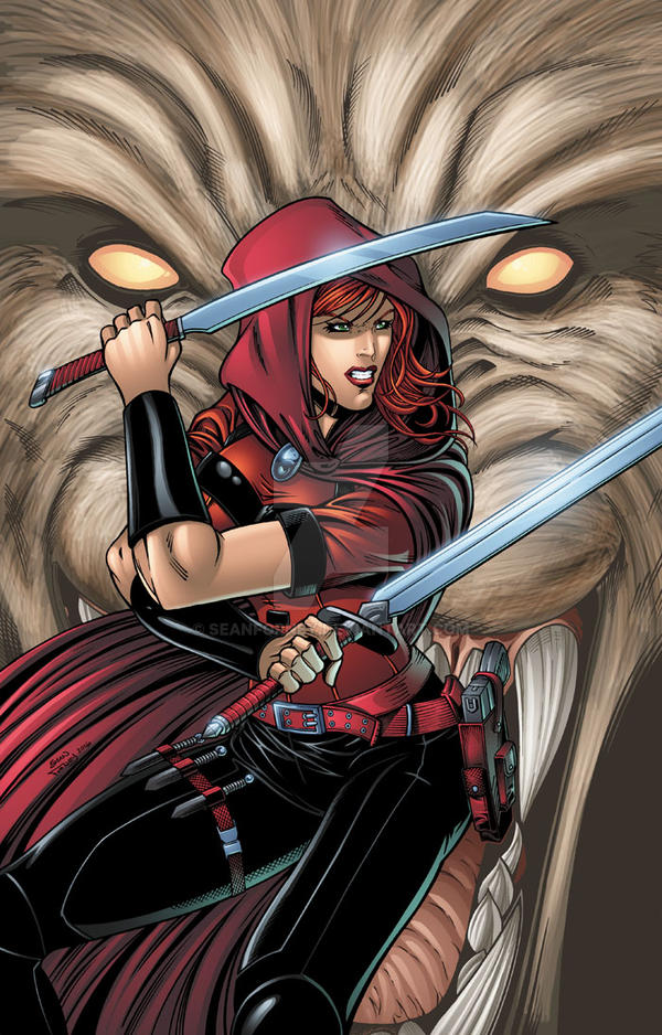Scarlet Huntress Cover #1 (2016 reprint) by seanforney