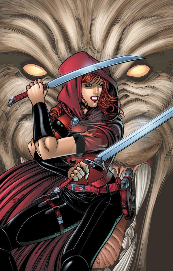 Scarlet Huntress Cover #1 (2016 reprint)