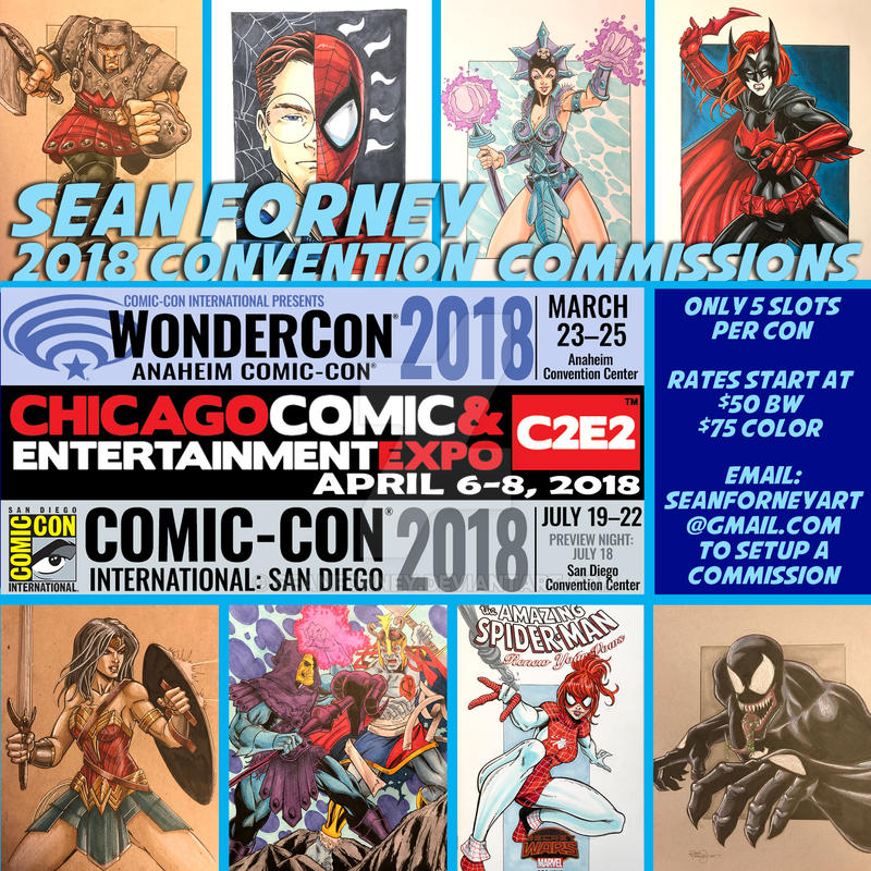 Con Sketch Opportunities 2018 by seanforney