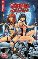 Vampirella Red Sonja 1 variant cover