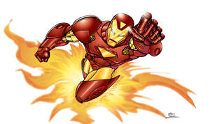 Iron Man colored