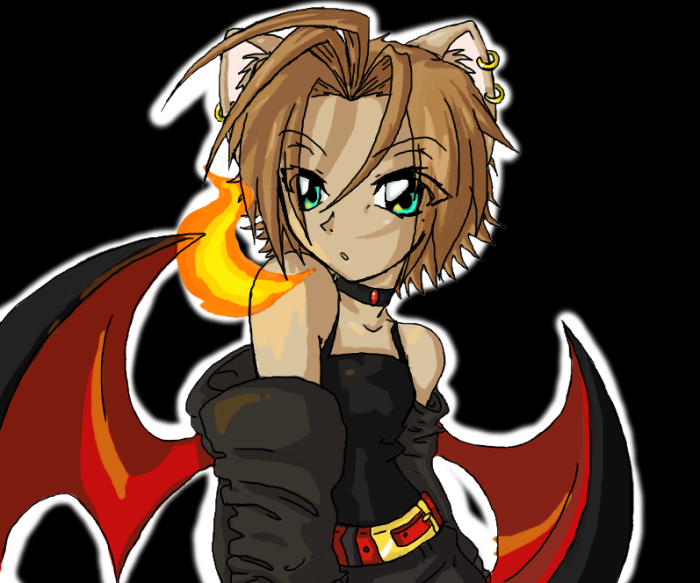 The 13 Year Old Demon Hunter by CatnipMafia