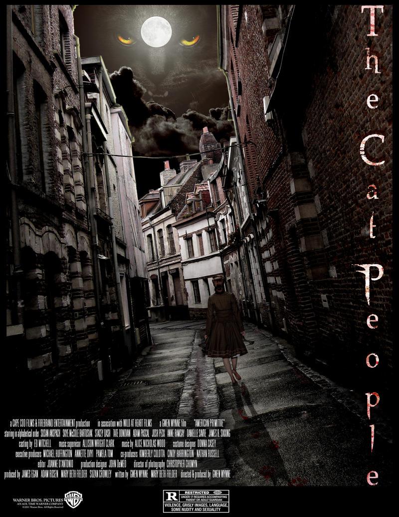 Cat People: Movie poster  1.0 by CatnipMafia
