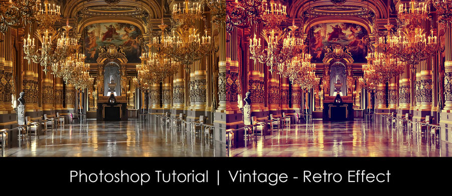 Photoshop Tutorial   Vintage - Retro Effect by mounir-designs
