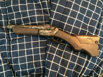 Custom Ash's boomstick from Evil Dead trilogy 2 by EJLightning007arts