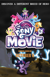 Fan Made MY LITTLE PONY THE MOVIE Poster by EJLightning007arts