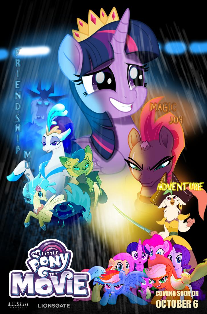 Mlp Movie Poster (blade Runner) by EJLightning007arts