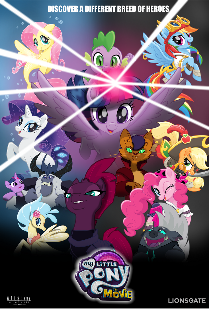 Mlp Movie Fan Made poster 2