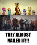 Mlp Movie And Team Fortress 2 meme