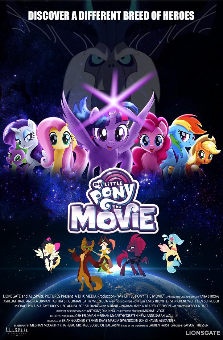 My Little pony Movie (POWER RANGERS)