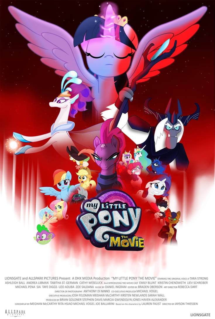 My Little Pony Movie fan poster (The Last Jedi)