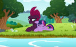 Twily and Tempy At the lake