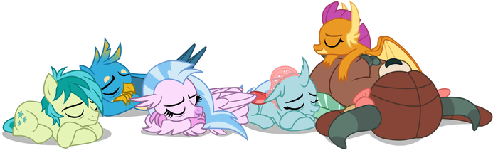 The Students are Sleeping (Vector) by EJLightning007arts