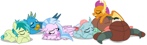 The Students are Sleeping (Vector)