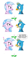 Gallus and Silverstream's Hearts warming