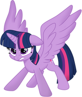 Twilight Sparkle (Movie Style) Vector 2 by EJLightning007arts