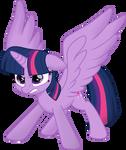 Twilight Sparkle (Movie Style) Vector 2
