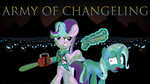 Army of Changeling (MLP x Army of Darkness) by EJLightning007arts