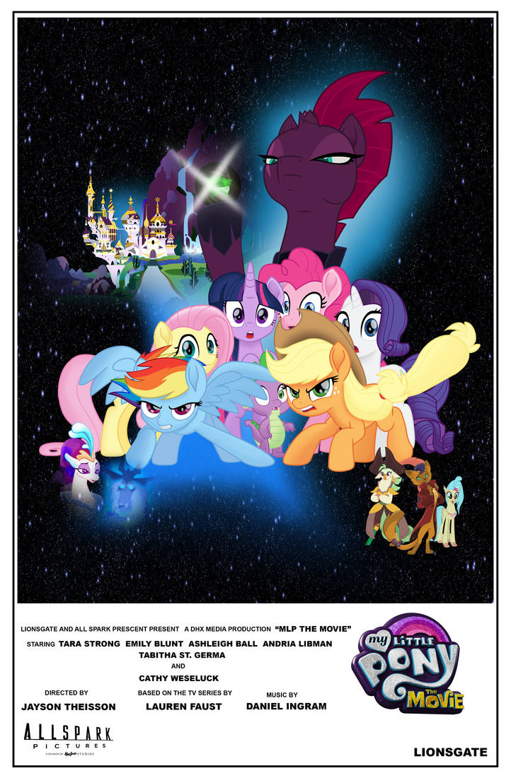 MLP Movie Poster (Star Wars)