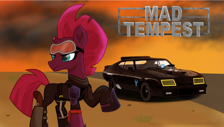 Mad Tempest Wallpaper by EJLightning007arts