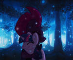 TempestLight in the Woods by EJLightning007arts