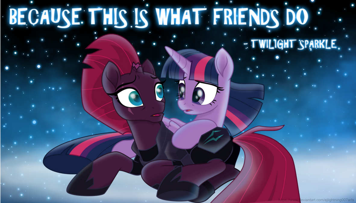 Twilight and Tempest's Wallpaper