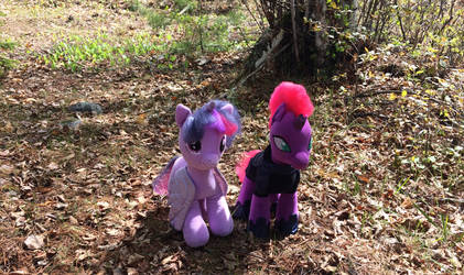 Strolling in the woods (stuffy vesion) by EJLightning007arts