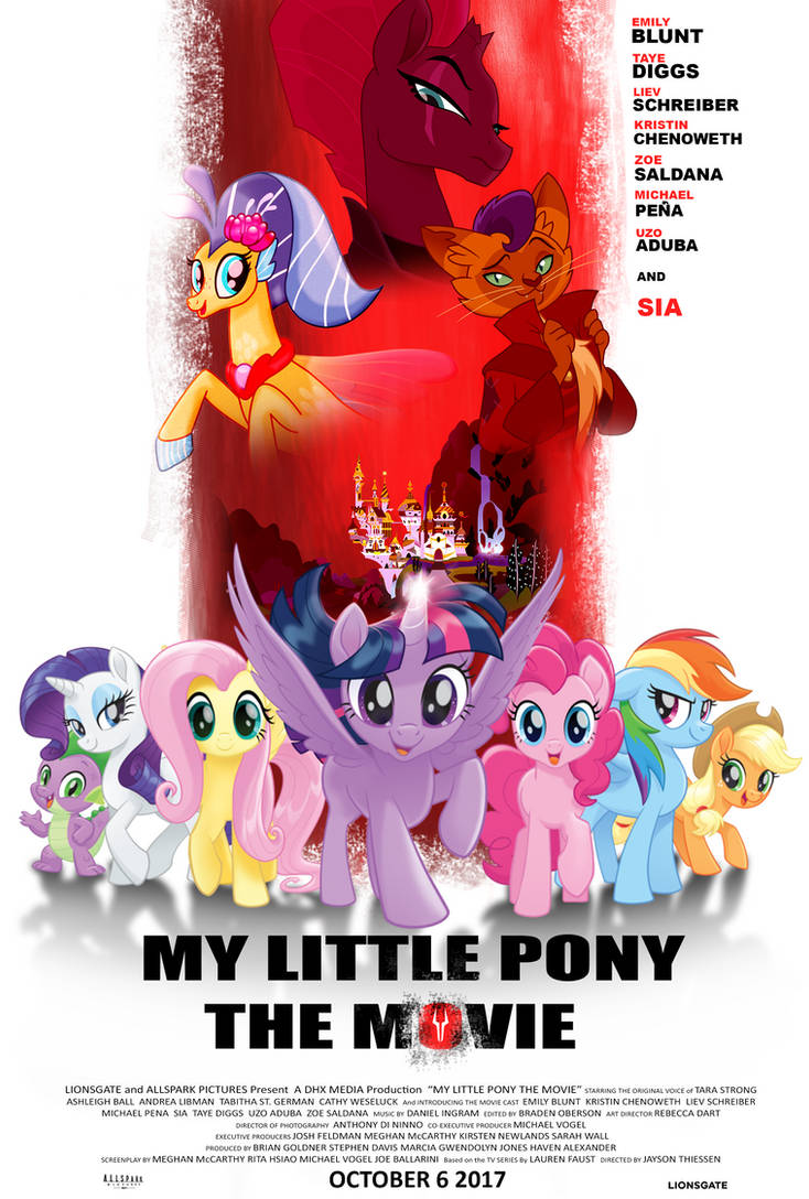 MLP Movie Poster (Inglorious Basterds)