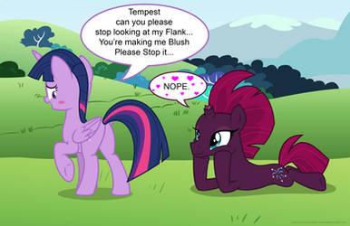 Tempest loves Twilight's Flank