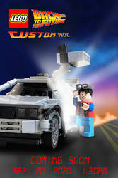 LEGO BTTF Poster style