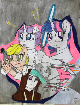 Star Wars (MLP Style) Drawing