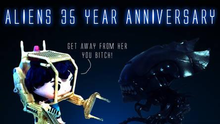 Aliens 35th Anniversary Pop vinyl figs